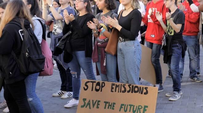 Fridays for Future Faenza - Immagini del terzo Global Strike di venerdì 27 settembre 2019