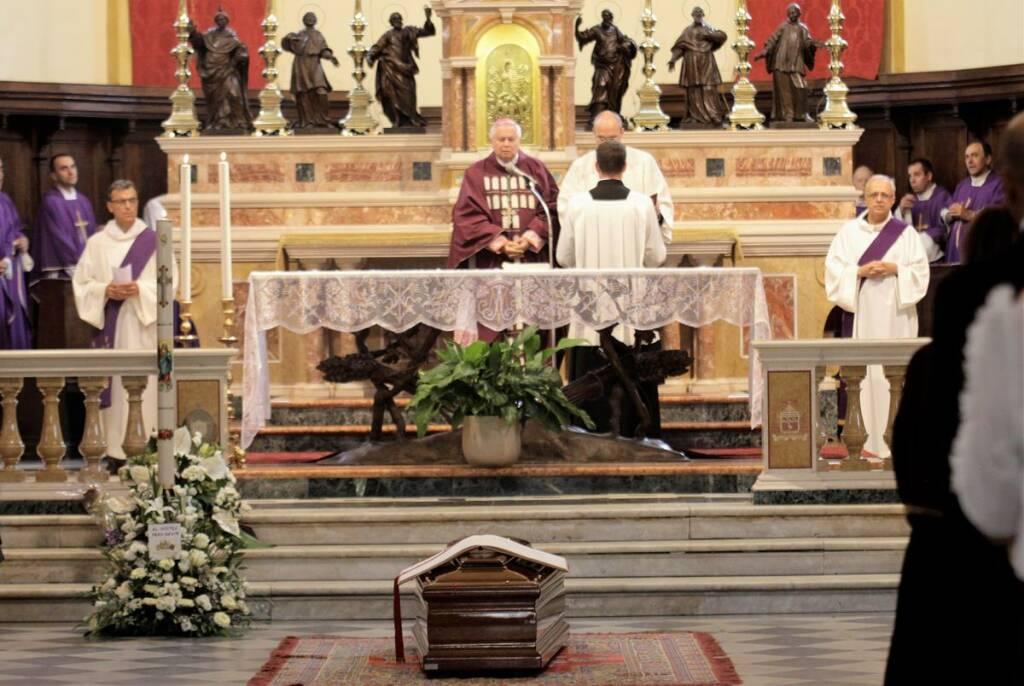 Funerali del cardinale Achille Silvestrini a Brisighella