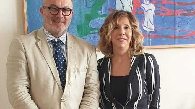 Fusignani in visita dal nuovo questore Loretta Bignardi