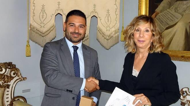 il Sindaco di Davide Ranalli incontra il nuovo Questore Loretta Bignardi