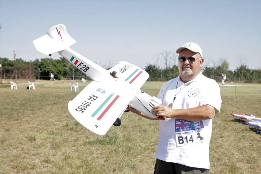 La 56^ Coppa d'Oro di aeromodellismo a Villa San Martino di Lugo, con 170 concorrenti di 24 nazioni