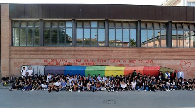 murales Liceo Oriani