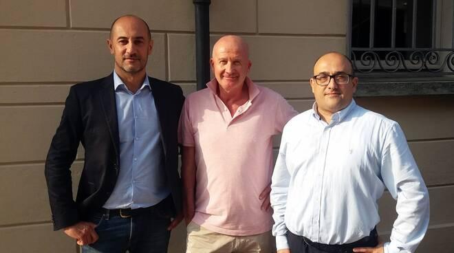 Nicola Pasi, Giovanni Ricci Maccarini e Carlo Sante Venturi