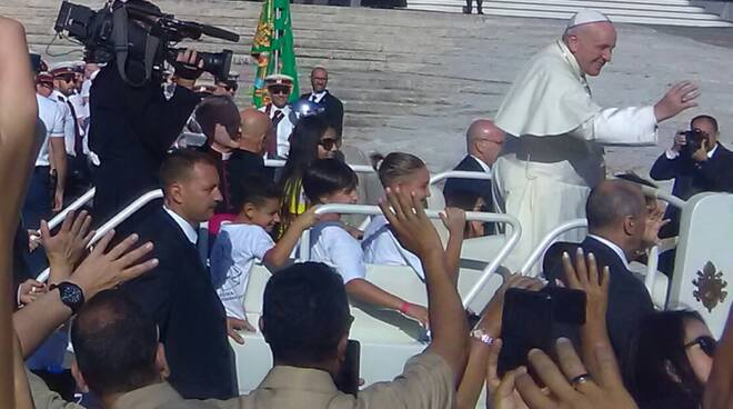 Parrocchia di Porto Fuori in udienza dal Papa