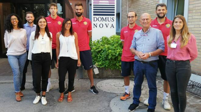 partnership tra il Porto Robur Costa e la Domus Nova