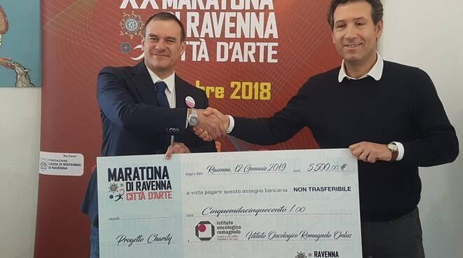 "partnership tra ""Maratona di Ravenna"" e Istituto Oncologico Romagnolo"