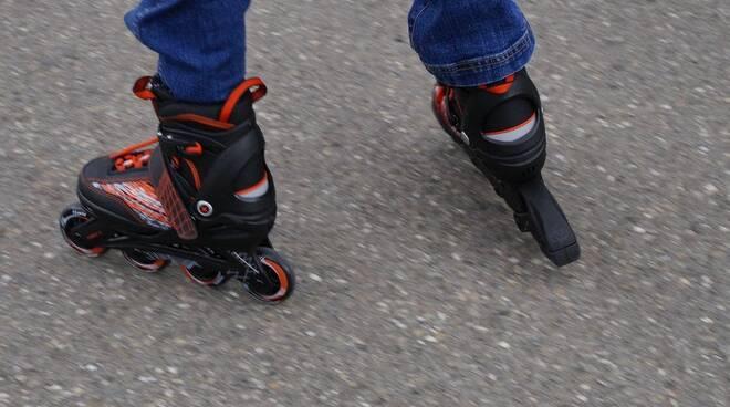 pattini rollerblade piedi