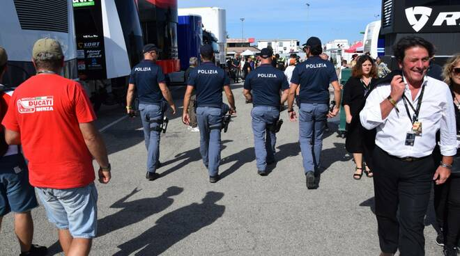 Polizia al GP San Marino