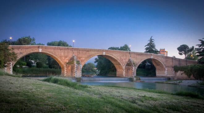 ponte vecchio cesena wiki loves monuments
