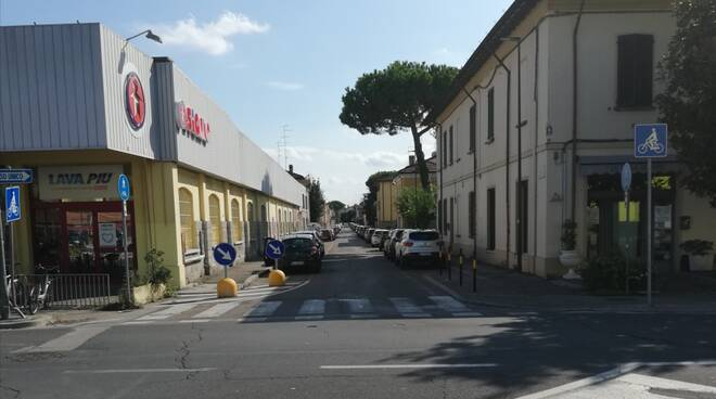 Ravenna, via Enrico Pazzi dissesto