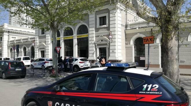 Rimini - Carabinieri in Stazione - controlli