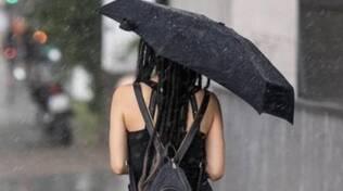 temporale ombrello pioggia