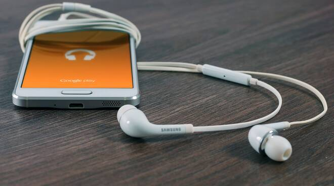 cellulare musica smartphone