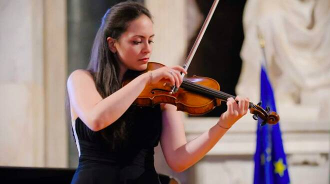 concerto ANNASTELLA GIBBONI violino