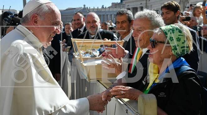 consegna sale cervia papa 2019