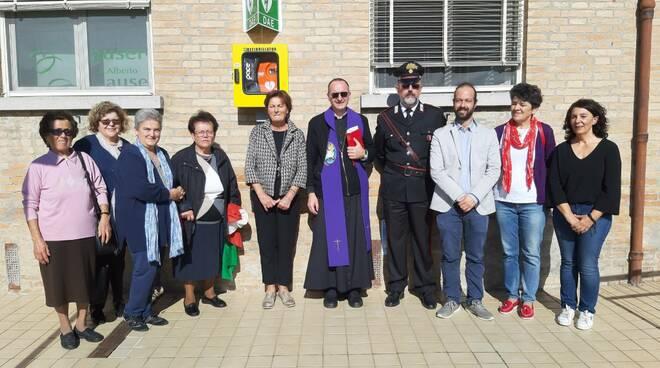 Defibrillatore Sant'Alberto