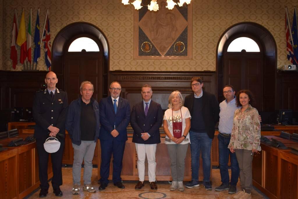 Fusignani incontrato in municipio il sindaco di San Severo Francesco Miglio