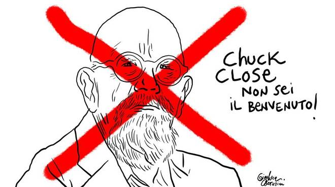 gianluca costantini chuck close