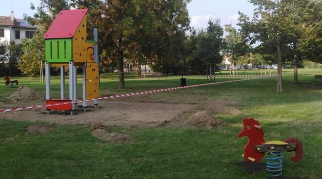 Giochi nei parchi