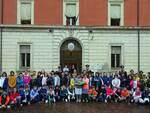 Gli alunni della scuola San Giuseppe in visita al Comando Compagnia Carabinieri di Lugo