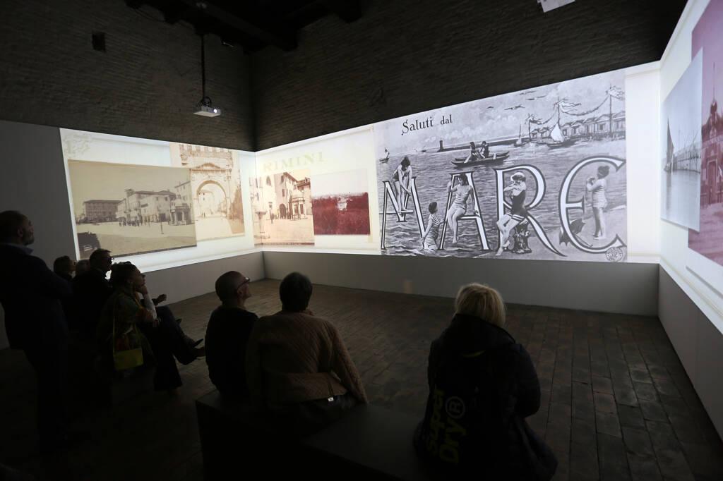 Inaugurazione mostra su Rimini