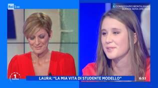 Laura Ginestretti a Uno Mattina