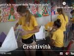 Magliette gialle in festa all'Almagià