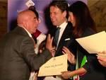 Malpessi  premiato a Roma dal Premier Conte