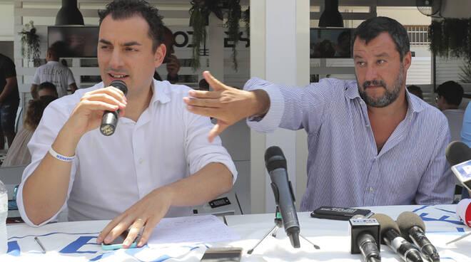Matteo Salvini - Jacopo Morrone