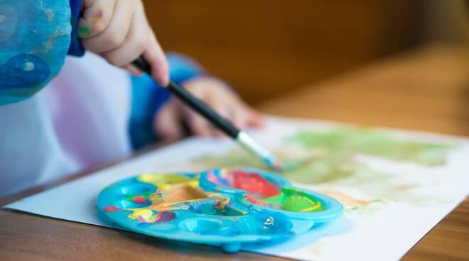 pittura bambini