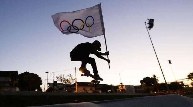 skate olimpico