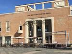 Piazza Kennedy e la struttura del Fellini scalino 5