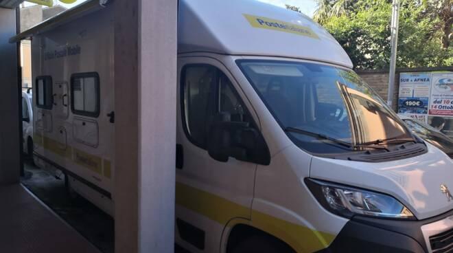 struttura mobile sostitutiva 'ufficio postale Fusignano