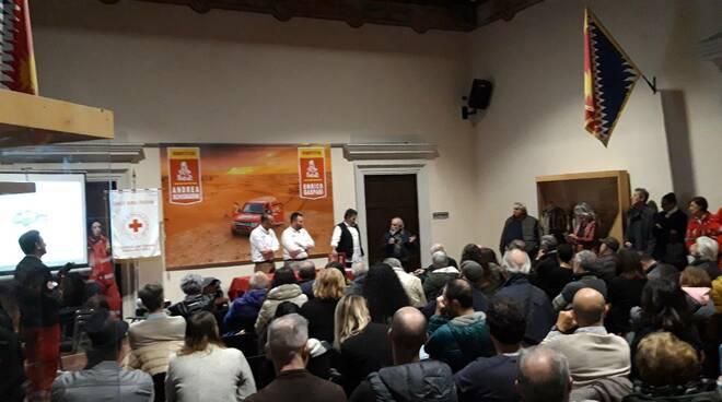 Andrea Schiumarini e Enrico Gaspari dakar 2020