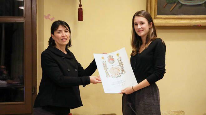 Bagnacavallo: l'alfiere del Lavoro Laura Ginestretti ospite in Consiglio comunale