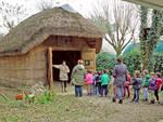 bambini all'ecomuseo delle erbe palustri