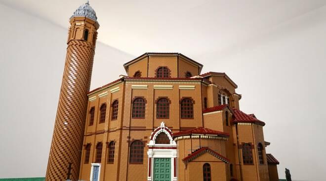 basilica  san vitale LEGO