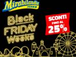 Black Friday Weeks di Mirabilandia.