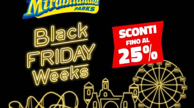 Black Friday Weeks di Mirabilandia.