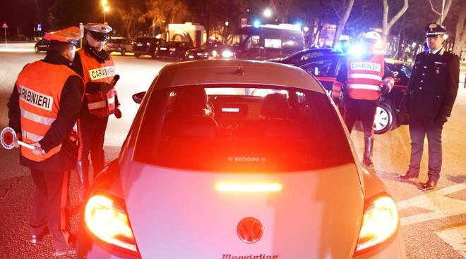 controlli dei carabinieri Rimini