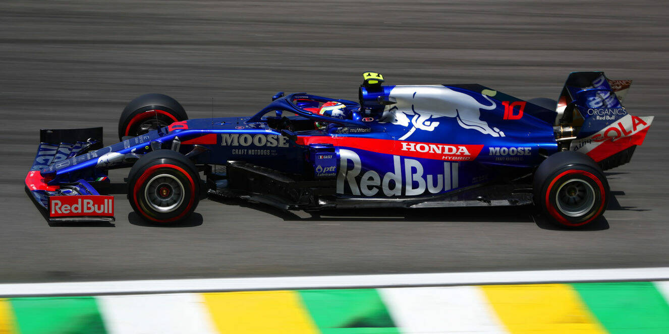 Toro Rosso Gasly Brasile