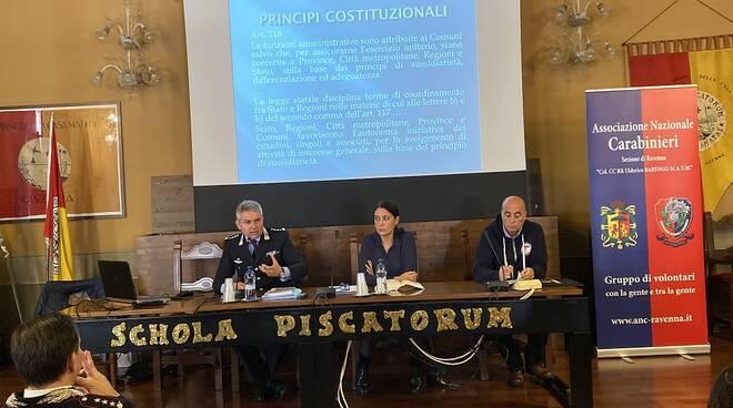 Giornata formativa dell'Associazione nazionale carabinieri alla Casa Matha
