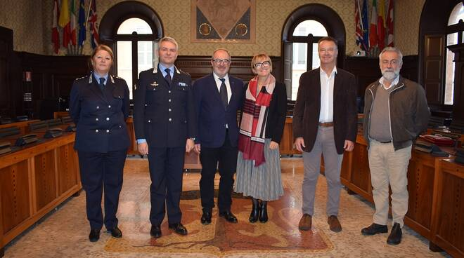 Il vicesindaco Eugenio Fusignani ha incontrato Lucia Capodagli