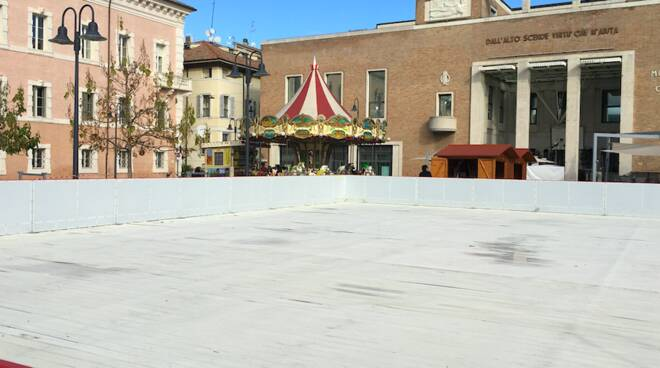 In piazza Kennedy