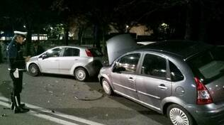incidente davanti al bar Tennis Zalamella