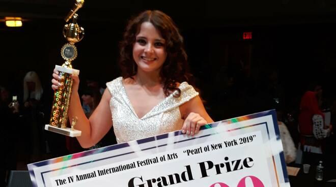 La cantante cerveseSara Dall'Olio vince a New York