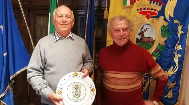 Medri incontra il maestro d'ascia Domenico Fioravanti
