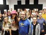 Nina Zilli insegnante d'eccezione agli studenti della Music Academy Rimini