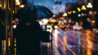 pioggia meteo ombrello