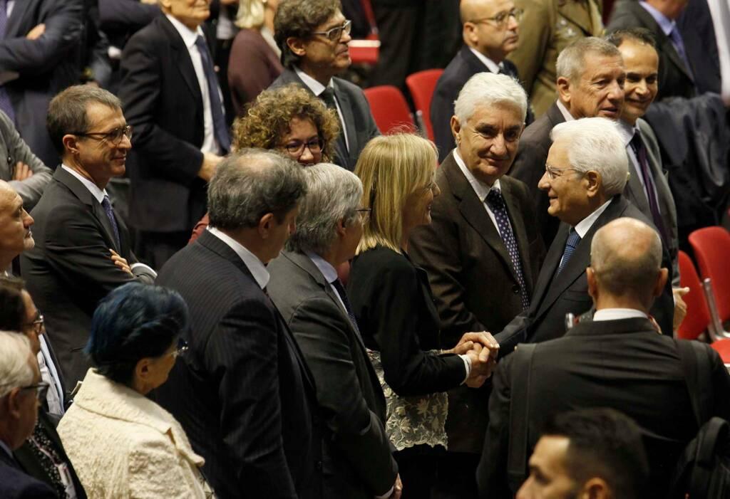 Ravenna, 30° della morte di Benigno Zaccagnini con il Presidente Sergio Mattarella